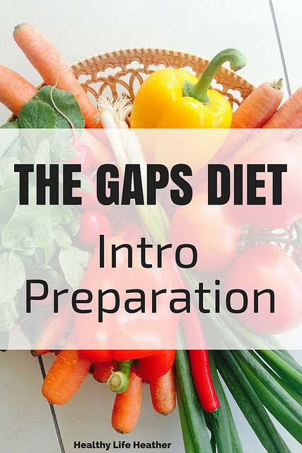 Tips for GAPS diet intro phase preparation | Healthy Life Heather
