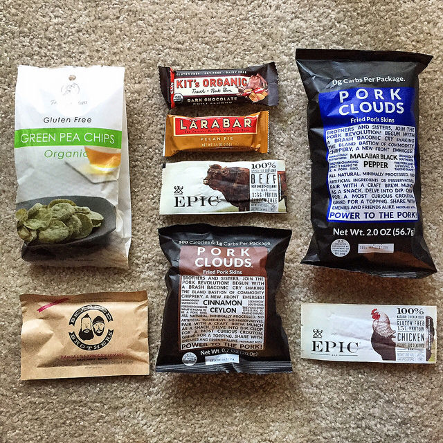 Paleo snacks for travel, great for long international flights. I ate most of these on our 30+ hour trip (4 flights, 3 layovers) to Australia!